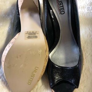 Unlisted Shoes - Unlisted peep toe pump
